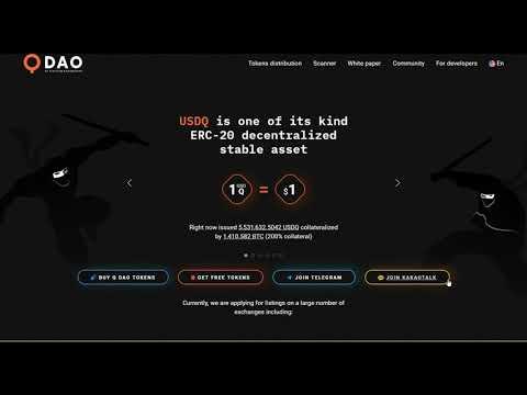 Обзор проекта Platinum Q DAO