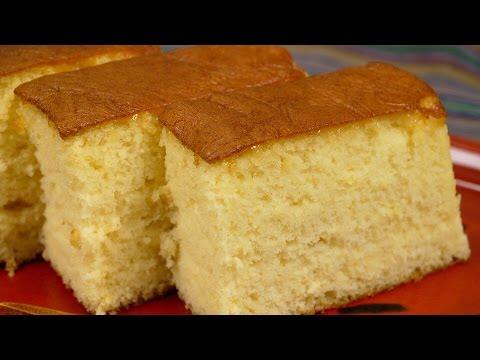 Video VANILLA SPONGE CAKE RECIPE