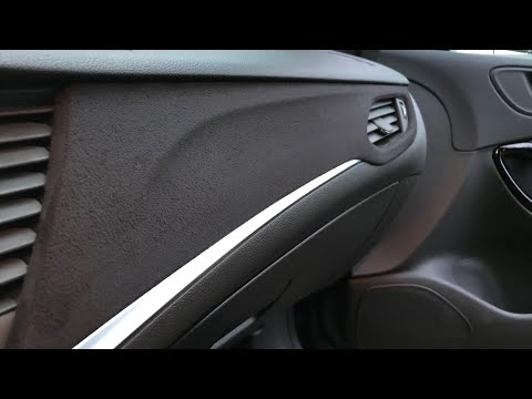 Opel Astra K - Alcantara Folieren (Disassamble Astra K Piano Black & Foiling)