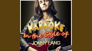 Goodbye Letter (In the Style of Jonny Lang) (Karaoke Version)