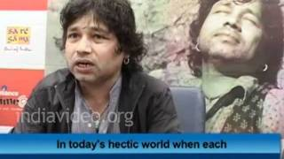 Kailash Kher on Social Networking Sites