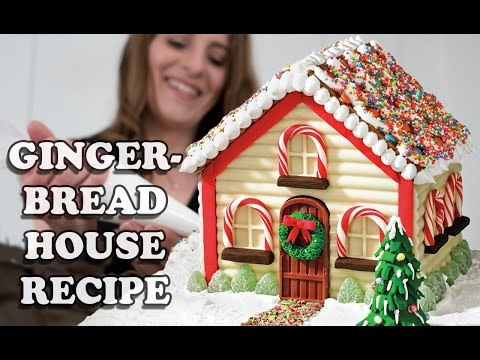 GINGERBREAD HOUSE RECIPE How To Cook That For Christmas Mp3