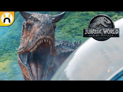 Jurassic World Fallen Kingdom Official Trailer BREAKDOWN & Analysis