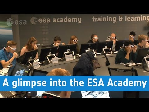 A glimpse into the ESA Academy