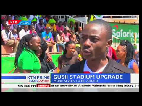 Kisii county to upgrade the Gusii stadium