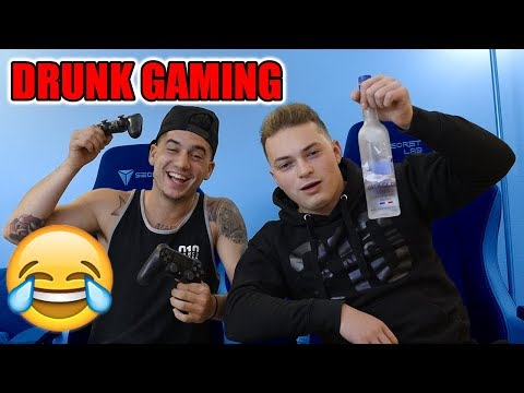 DRUNK GAMING 😂 (Call Of Duty ZOMBIES)