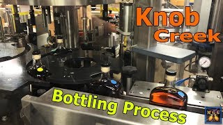 Jim Beam Distillery Tour - Bottling Knob Creek Whiskey
