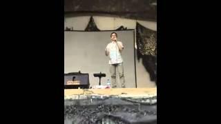 David Archuleta sings Bring Him Home for U.S. troops in Afghanistan