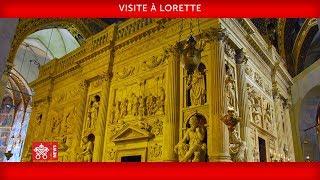 Pape François - Lorette - Visite 2019-03-25
