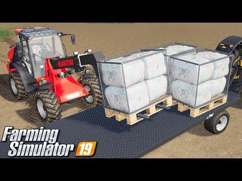 Sprzedaż wełny - Farming Simulator 19 | #61