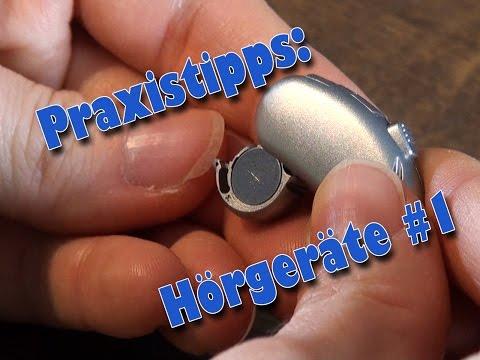 Praxistipps -  Hörgeräte 1