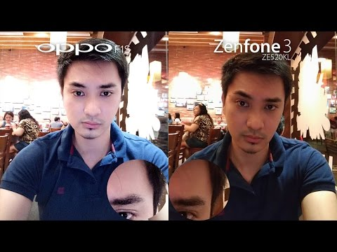 Oppo F1s vs Asus Zenfone 3 Review + Camera Comparison