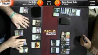 Grand Prix Oklahoma City 2015 Finals: Zac Elsik vs. Brian Braun-Duin (Modern)