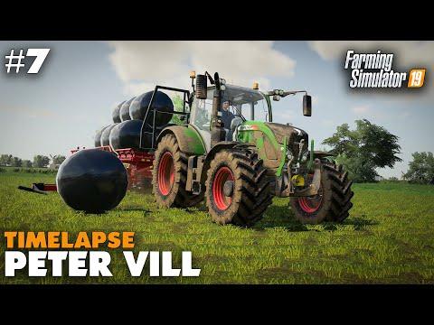 Peter Vill Timelapse #7 Silage Bales Farming Simulator 19
