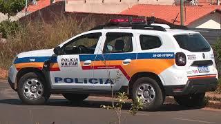 A Polícia ainda procura pelo atirador que tentou matar um jovem de 25 anos, nesta quarta-feira em Patos de Minas.