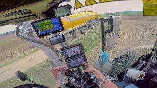 POV/GoPro/driver view - VREDO VT7028-3 + Volmer 9m, Tatra Phoenix Agro + Kotte