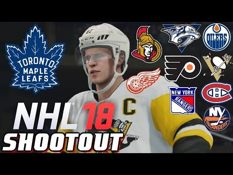 NHL 18 - Shootout Commentary ep. 1