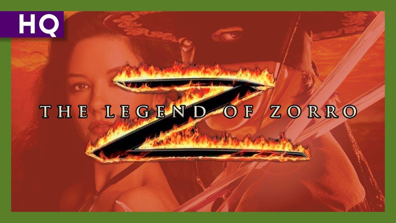Trailer för Legenden om Zorro