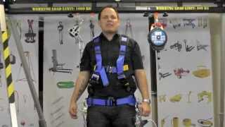 Safety Harness 2 Point & work positioning belt G-Force P52 Pro by Safety-Lifting.com