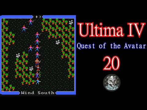 Ultima IV: Quest of the Avatar - Let's Play Episode 20 Gathering Thoughts, Battles, and Coin