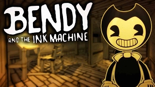 Bendy and the Ink Machine Gameplay - THE DEVIL! (Let's Play Bendy and the Ink Machine Chapter 1)