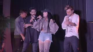 Mau y Ricky, Becky G, Camilo Echeverry - Sin Pijama| Live Performance 07/20 | MIAMI