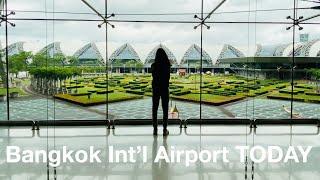 Arriving At Bangkok Airport TODAY - Domestic Travel Thailand (from Koh Samui)