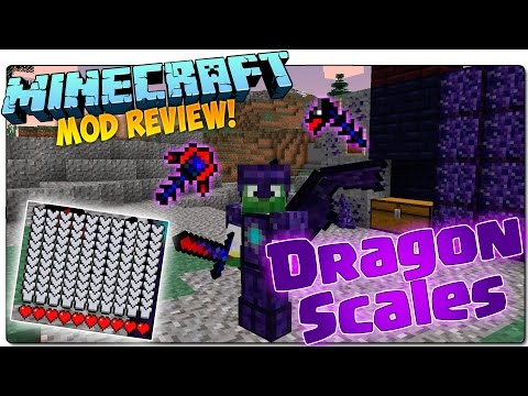 DRAGON SCALES MOD MINECRAFT 1.7.10 ESPAÑOL | Armadura y espada de dragón to cheta! | MINECRAFT MODS
