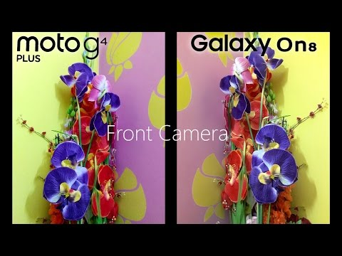 GALAXY ON8 -Camera Review! (vs J7-6, Moto G4+, Redmi Note 3)