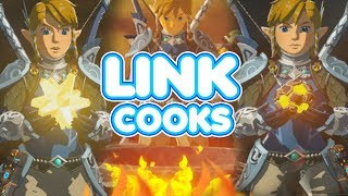 Link Cooks a Rare Star Fragment and an Ancient Core