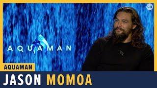 Jason Momoa Talks 'Aquaman'