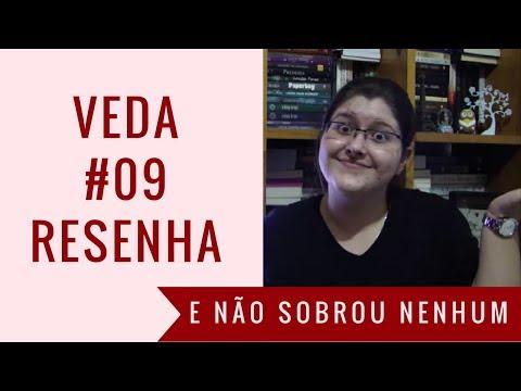VEDA #09 - #Resenha: E Não Sobrou Nenhum - Agatha Christie | Estante, Livros, Coleção #26