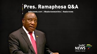 President Cyril Ramaphosa gives oral reply to written questions from political parties in parliament. Some of the questions relate to the donations from Bosasa and the more recent revelations of donations to his campaign for the ANC presidency. The DA wants to know if he'll institute a full commission of inquiry to further probe allegations of state capture involving Bosasa. The EFF will ask him to furnish further details of funders he has admitted to meeting with in the CR17 fundraising drive. He will also be asked questions related to the state of the National Health Insurance and the economy.   For more news, visit: sabcnews.com