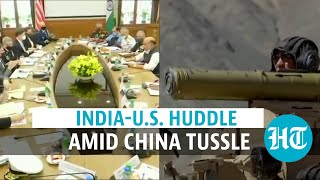 Watch: Donald Trumps top ministers in India for 2+2 talks amid China tension - Download this Video in MP3, M4A, WEBM, MP4, 3GP