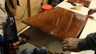 Oil Base Polyurethane Brush Technique