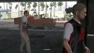 Grand Theft Auto 5 Walkthrough Part 115 - NO TITTIES PLEASE! | GTA 5 Walkthrough