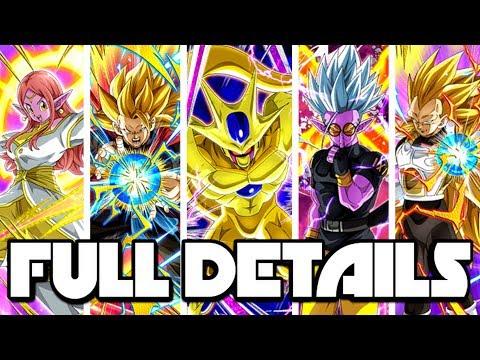 UNBELIEVABLE! FULL DETAILS FOR ALL 10 NEW HEROES UNITS IN DOKKAN! | Dragon Ball Z Dokkan Battle