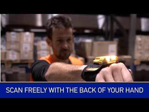 Datalogic HandScanner™ | Scan freely with the back of your hand