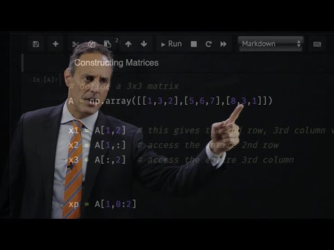 Scientific Computing with Python: Vectors and Matrices - YouTube