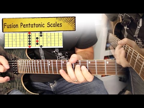 Fusion Guitar Pentatonic Scales Lesson