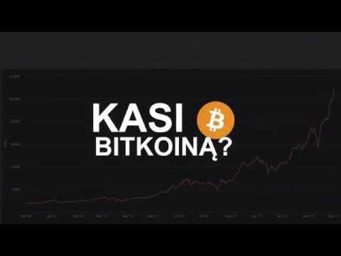 Gali bitcoin avarijos rinkoje