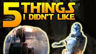 5 things I don't like with Star Wars: Battlefront 2!