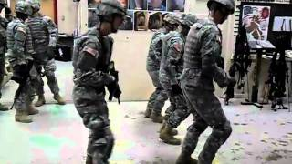 The Cupid Shuffle - Army Edition
