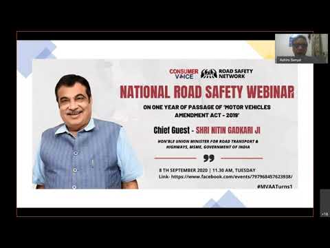 National Road Safety Webinar