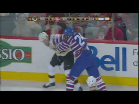 Shawn Thornton vs Alex Henry