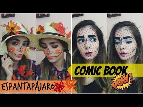 Disfraz para Halloween: Espantapájaro y Comic Book | Parte 1 | Celhelíz