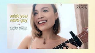 Wish You Were Gay ~ Billie Eilish (uke Cover)