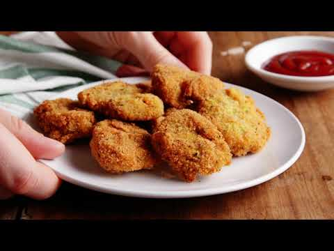 Crispy Homemade Veggie Nuggets