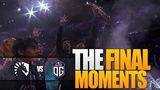 Dota 2 OG vs Team Liquid - The Final Moments #TI9 THE INTERNATIONAL 9