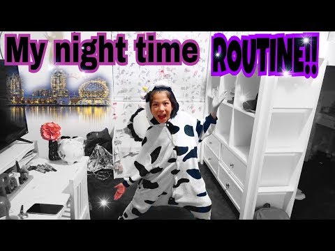 MY NIGHT TIME ROUTINE IN MY NEW HOUSE!!! | Txunamy